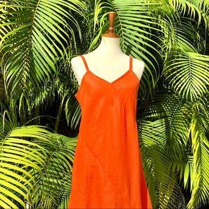 Jams World Hawaii strappy linen dress